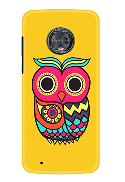 on sale e1a95 38337 Hupshy Printed Back Cover for Moto G6 - Multicolor