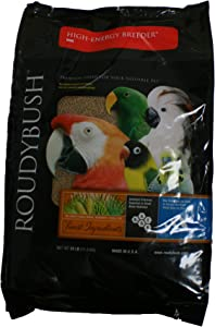 RoudyBush High Energy Breeder Bird Food, Mini, 25-Pound