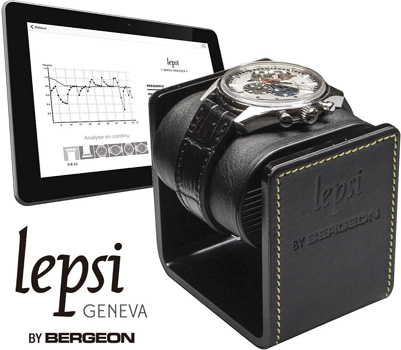 [ベルジョン] BERGEON 時計精度テスター Lepsi レプシ ウォッチアナライザー BE7804 正規輸入品 B01K3RTN6G