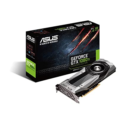 amazon com asus geforce gtx 1080 ti 11gb gddr5x founders edition vr rh amazon com Graphic Color Guide graphics card guide 2017