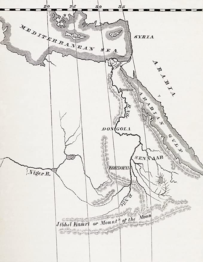 amazon posterazzi map of the nile basin in 1819 ad from in Agadez Niger amazon posterazzi map of the nile basin in 1819 ad from in darkest africa poster print by henry m stanley published 1890 12 x 16 posters prints