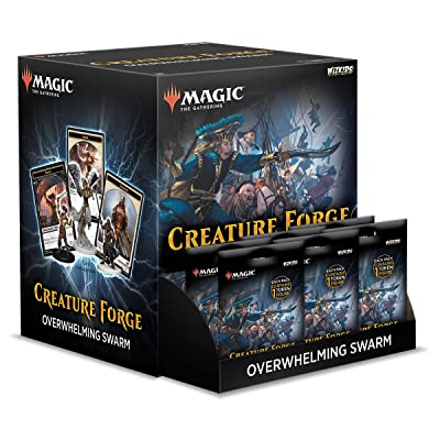 WizKids Magic: The Gathering Creature Forge Overwhelming Swarm 24 Piece Set Toy: Toys & Games