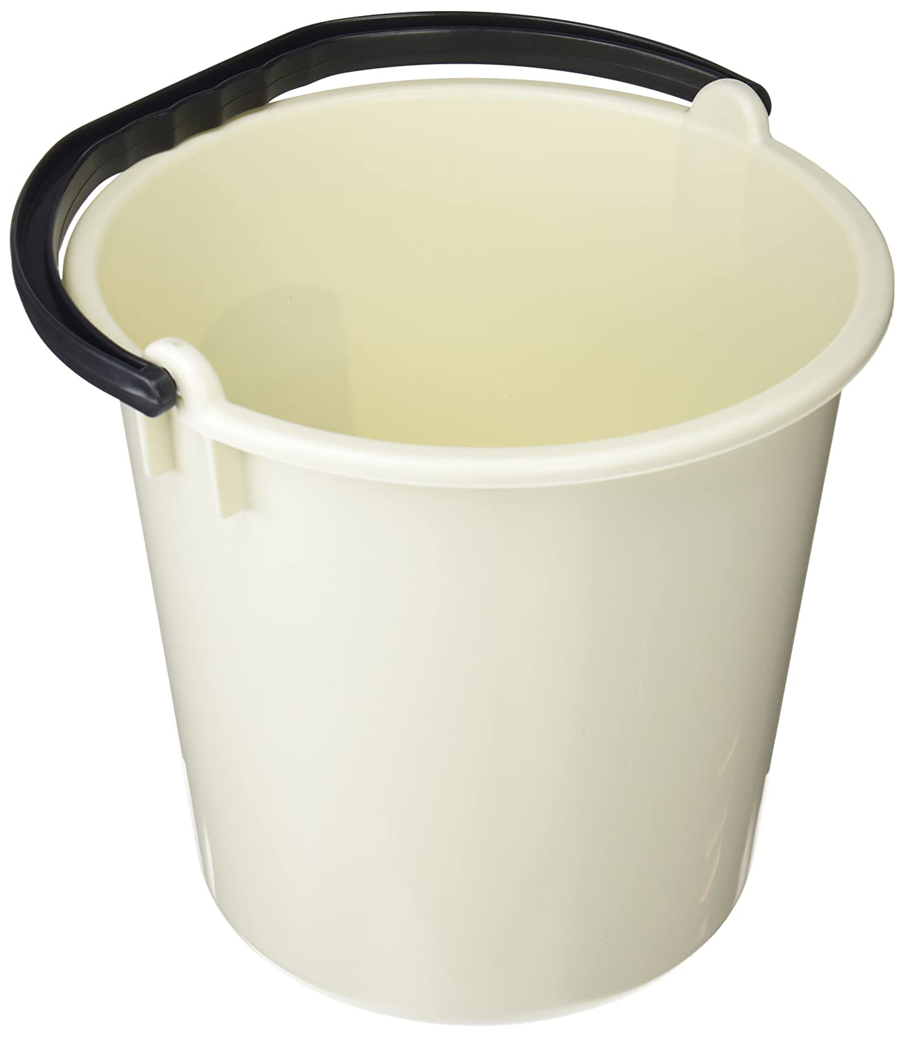 Addis 9 Litre Bucket with Grip Handle, Linen 351338