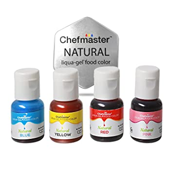 Amazon Com Chefmaster All Natural Food Coloring Vegan Friendly