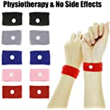 DR.DUDU 5 Pairs Motion Sickness Relief Wristbands Acupressure Wristbands Nausea Relief Band Morning Sickness & Sea, Travel, Car Sickness