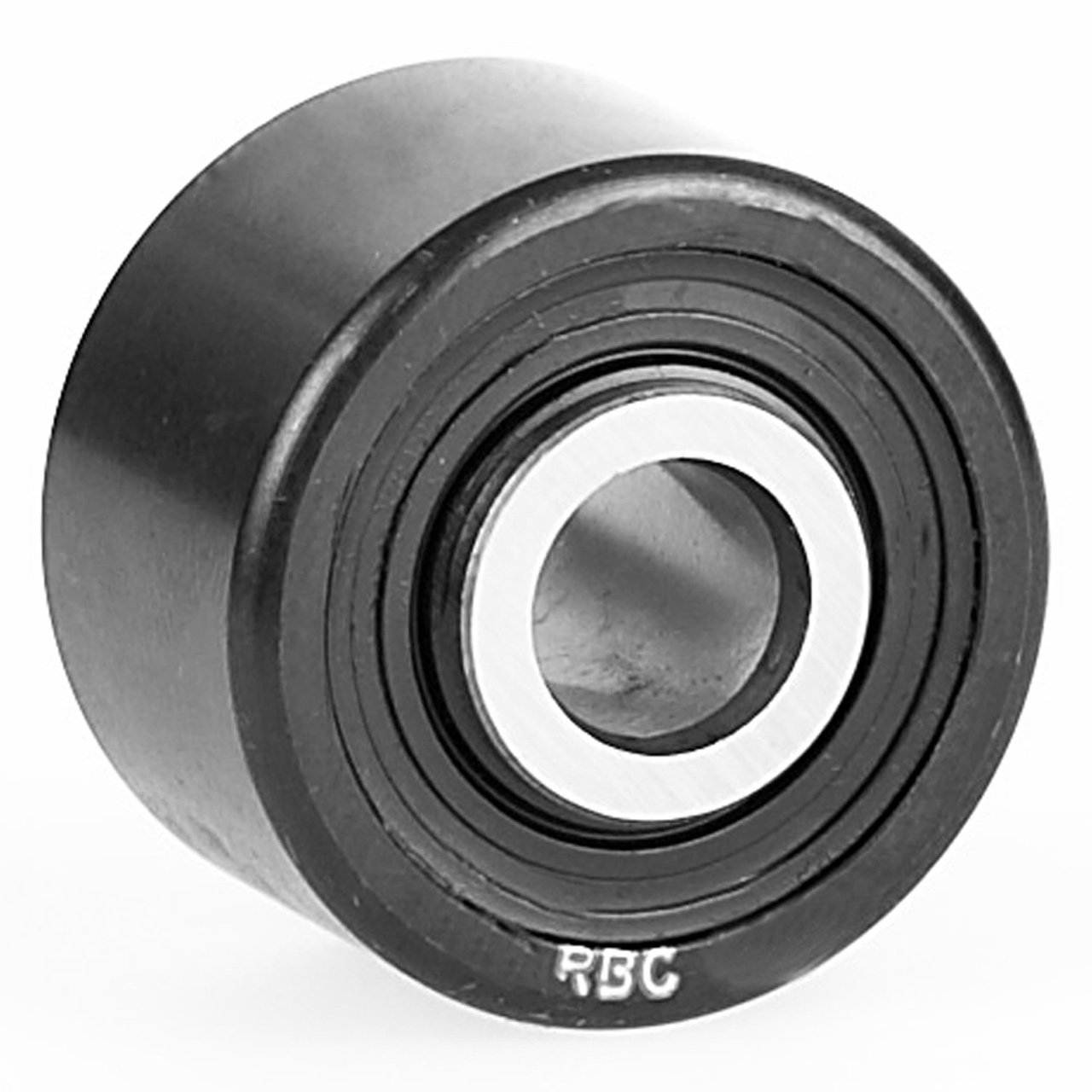 Yoke Type RBC Cam Follower RBY11//2 1.500 OD x 0.4375 ID Without Stud RBC Roller Cylindrical Roller Design Cam Follower