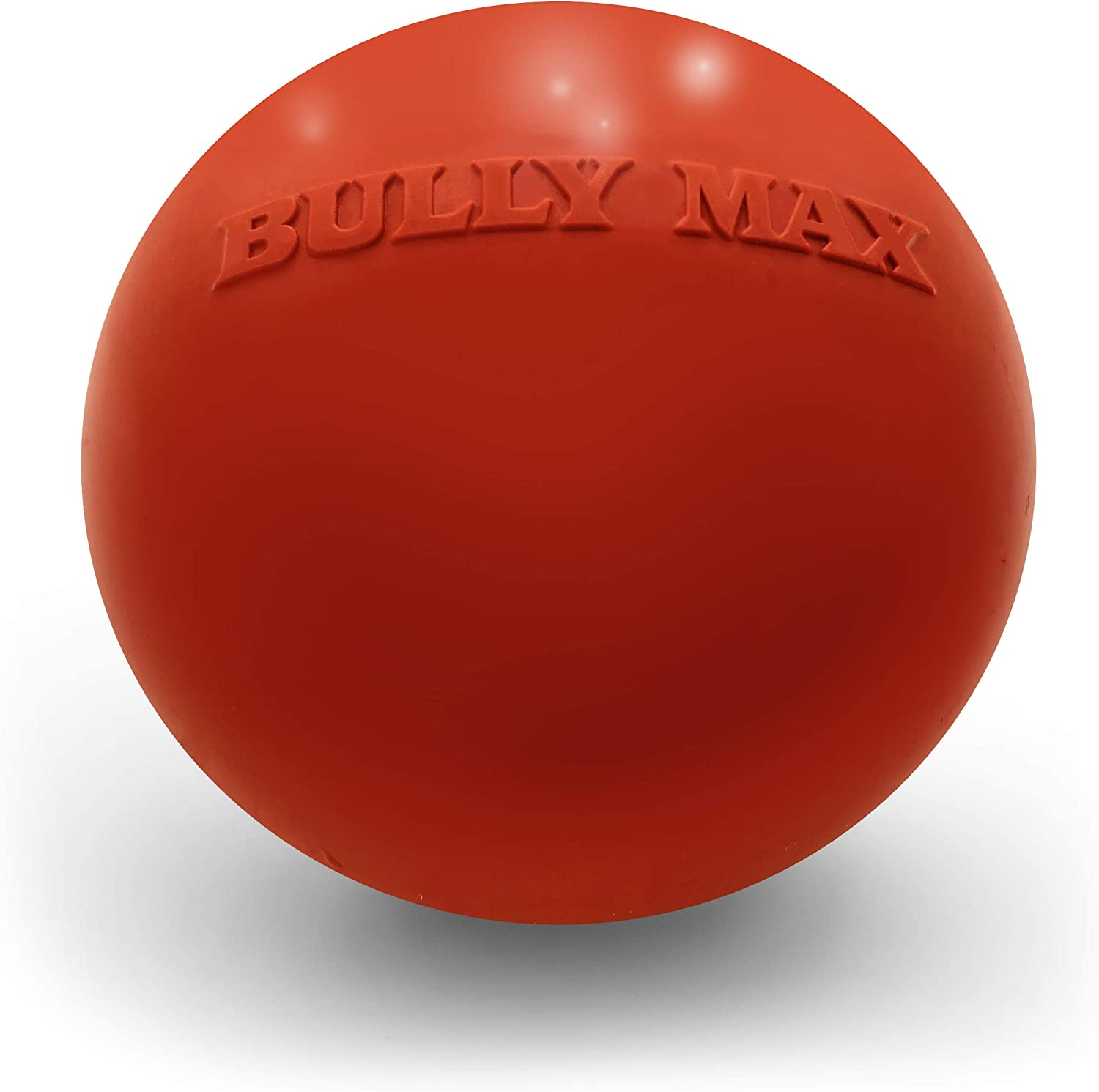 Bully Max Long Lasting Dog Chew Toy for Aggressive Chewers, Large Dogs, Puppies. Pit Bull Toys Guaranteed to Last a Lifetime. Cleans Your Dog's Teeth & Improves Mental Health.