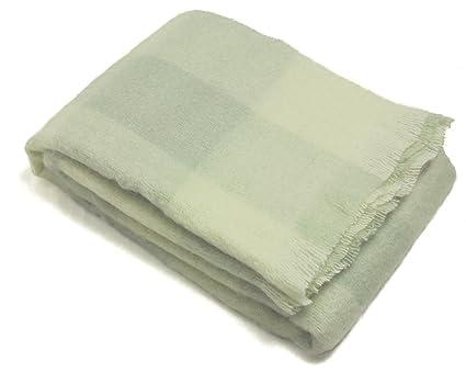 Mohair Throw Blanket By Cape Mohair Avocado Check Amazonin Home Adorable Mohair Throw Blankets
