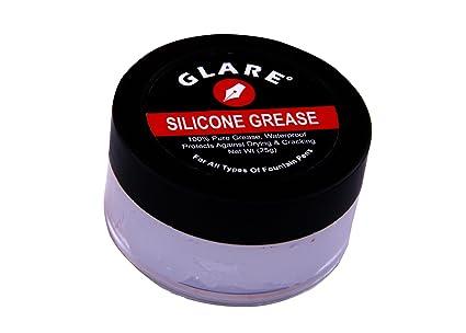 GLARE INDIA Silicone Grease for Fountain Pen, 25g