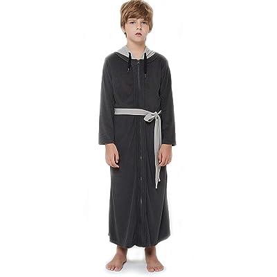 Details about  /Men//Women Pajamas Belted Sleepwear Robes Comfortable Bathrobe