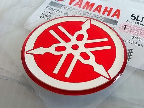 100/% Genuine 30mm Diam/ètre Yamaha Diapason Autocollant Embl/ème Logo Noir Jet Ski Motoneige Argent Sur/élev/é Gel Bomb/é R/ésine Adh/ésif Moto Atv