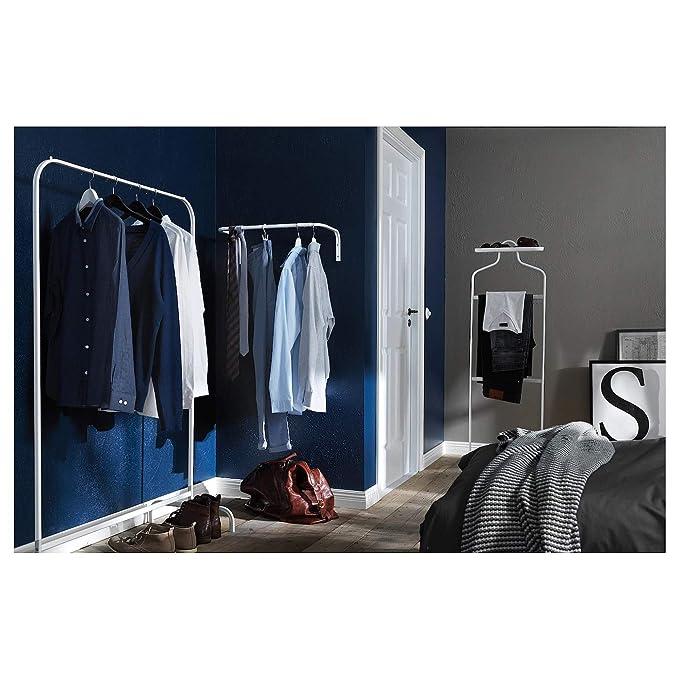 IKEA MULIG Burro Perchero Ropa Blanco