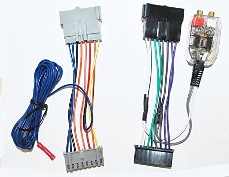 Amazon.com: Factory Radio Stereo Amplifier Sub Interface Wire ... on lincoln ls wiring harness, chevy cobalt wiring harness, geo tracker wiring harness, ford contour aftermarket headlights, chevy aveo wiring harness, ford contour ignition coil, ford contour parts diagram, saab 900 wiring harness, mazda rx7 wiring harness, audi a4 wiring harness, ford contour fuse box, ford contour relay wiring, ford contour throttle position sensor, jeep grand wagoneer wiring harness, geo metro wiring harness, chevy nova wiring harness, ford contour throttle body, mercury sable wiring harness, datsun 510 wiring harness, pontiac grand am wiring harness,