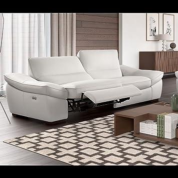 Ledercouch design  Designer Funktionssofa Leder Sofa Sofagarnitur Ledercouch ...