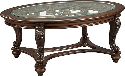 Signature Design Oval Coffee Table