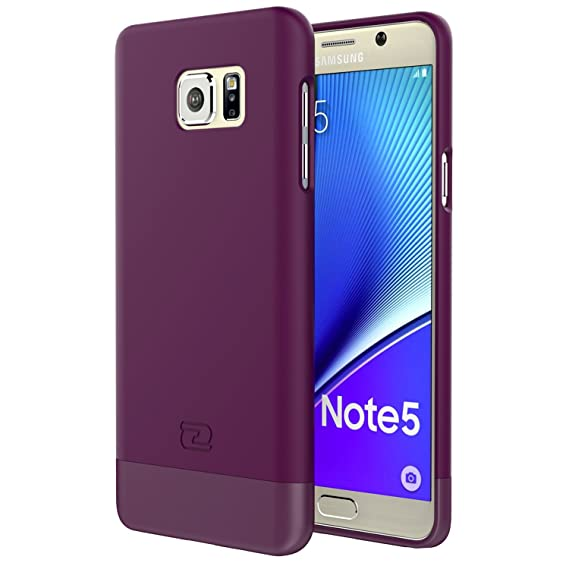 sports shoes 25e8b 09ef3 Encased Samsung Galaxy Note 5 Case, Ultra-Thin SlimSHIELD Hybrid Shell4  Cool Colors Available (Royal Purple)