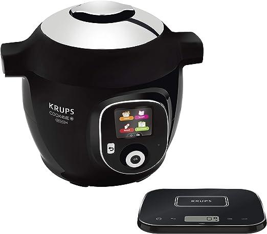 Krups Cook4Me+ Grameez CZ8568 1600 - Robot de cocina, color negro ...