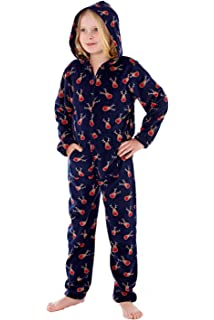 df9932c9e Unisex Rudolph Reindeer All Over Print Warm Polar Fleece Onesie ...