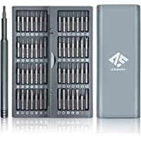 AUSELECT Precision Screwdriver Set (57-in-1) with Magnetic Head Screwdriver Tool Pop-Up Storage Box for Computer, Laptop…