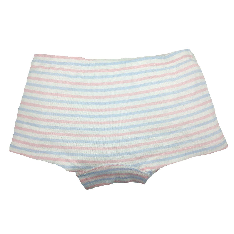Cczmfeas Girls Boyshort Hipster Panties Cotton Kids Underwear Set (A-6 Pack, 6-8 Years) by Cczmfeas (Image #6)