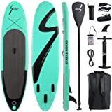 streakboard Inflatable Stand Up Paddle Board Surfing SUP Boards, No Slip Deck 6 Inches Thick ISUP Boards with Free SUP Access