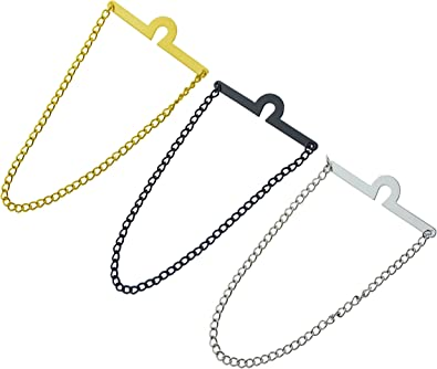Geek-M Corbata de hombre cadena de moda cuello enlace noble collar ...