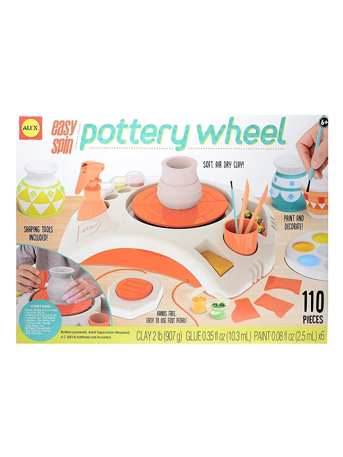 Top 7 Best Pottery Wheels for Kids Reviews in 2020 6