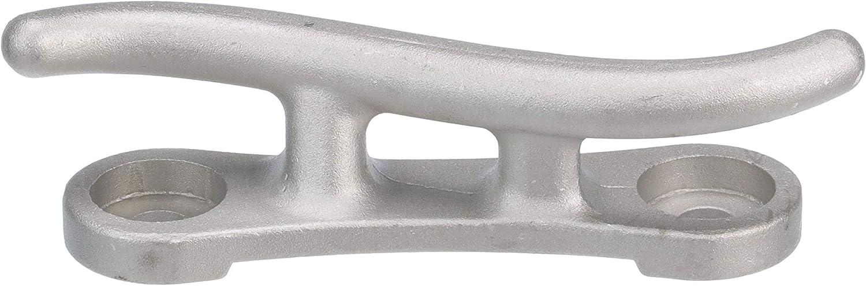 "Seachoice 30760 Cast Aluminum S"" Corrosion-Resistant Aluminum Construction Dock Cleat, 10 Inch"