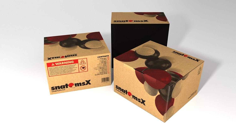 Snatoms X Magnetic Molecular Modeling Kit