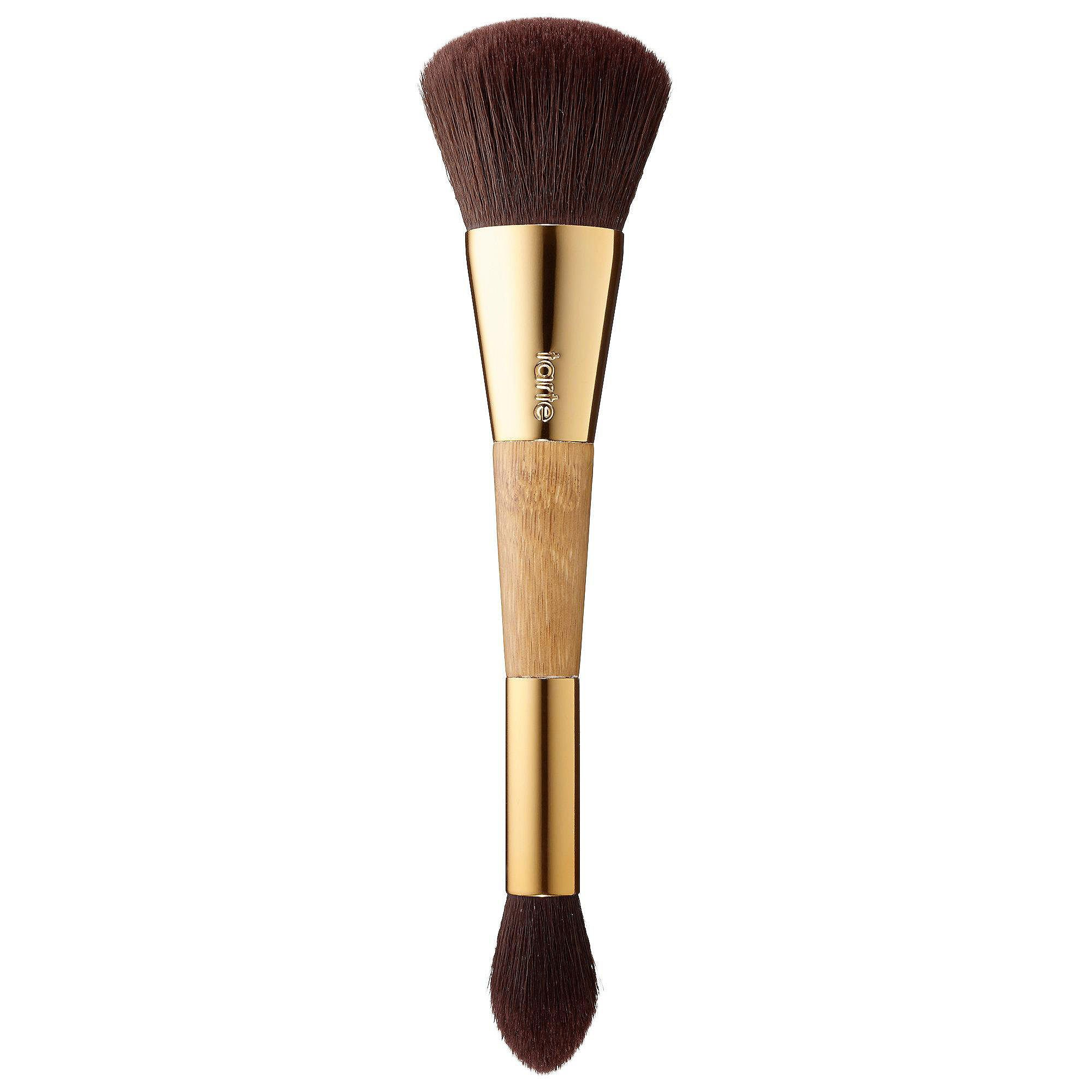 Tarte Bronze & Glow Double-Ended Contour Brush In Box