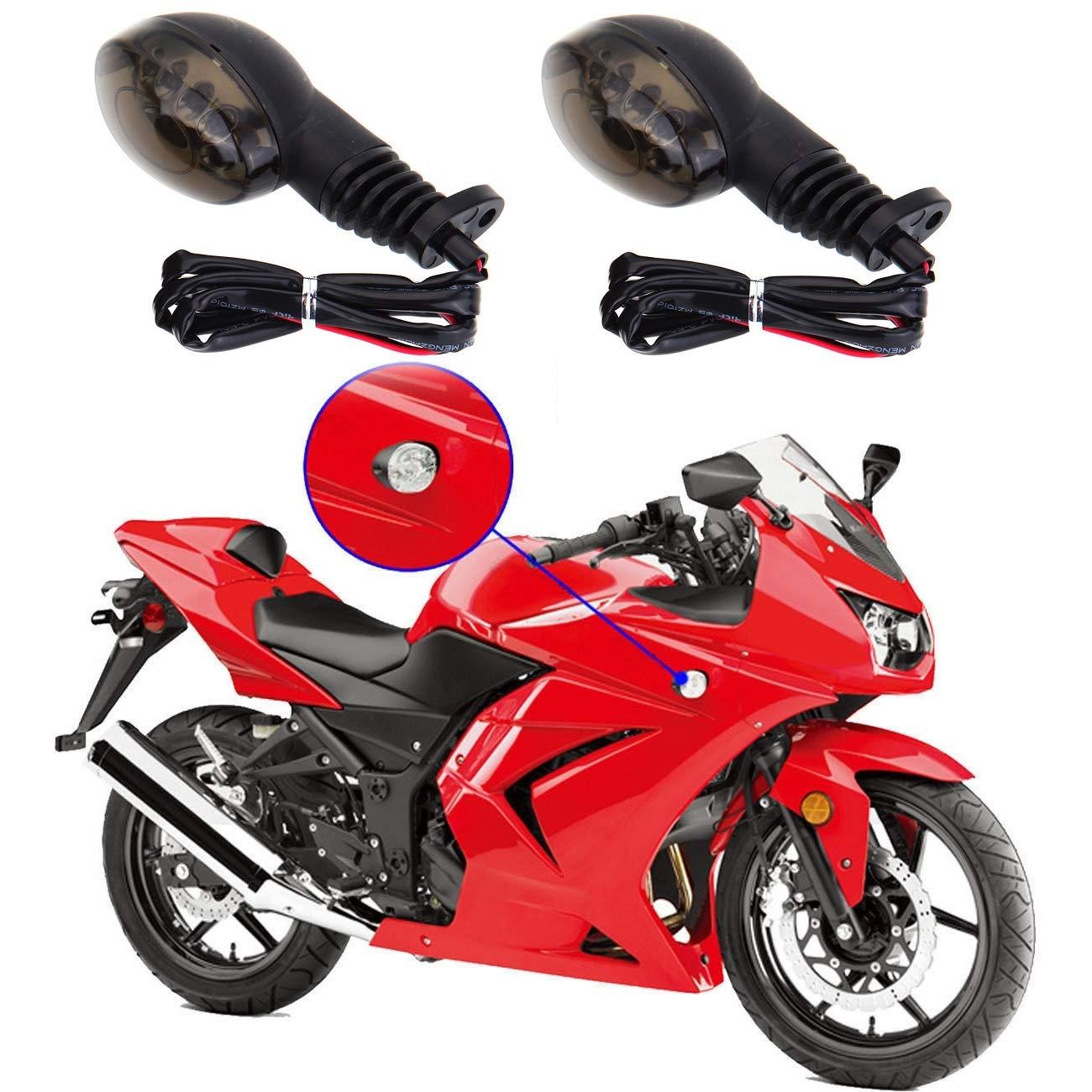 LED Turning Signals Blinker Light For Kawasaki KLX250SF 2009-2011 #2 Color