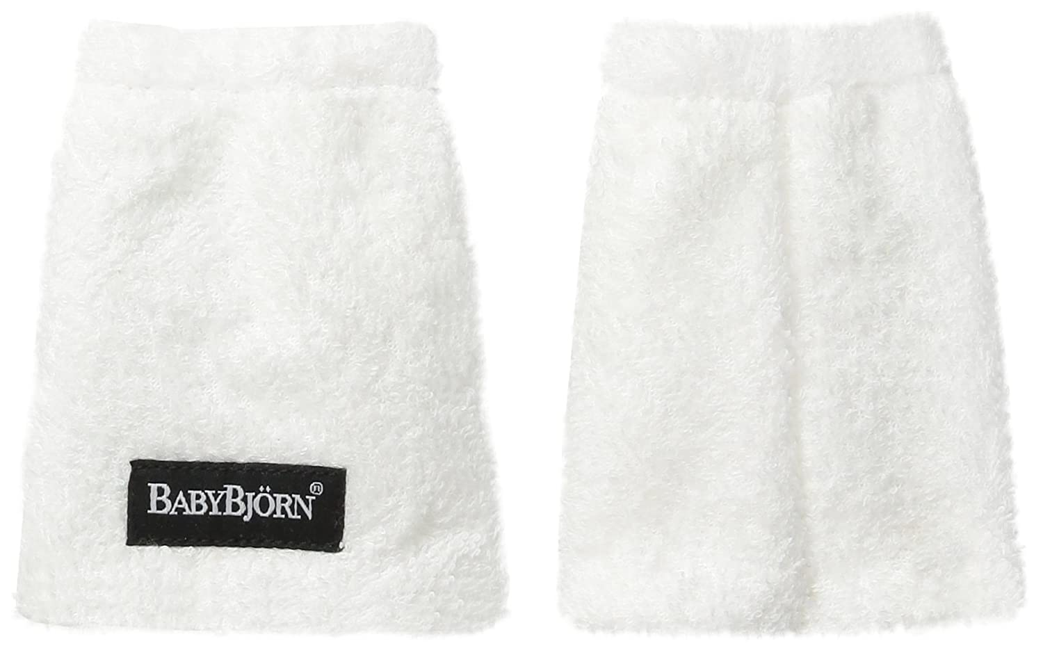 BABYBJORN Teething Pads for Baby Carrier - White, 2-Pack BabyBjörn 032021US
