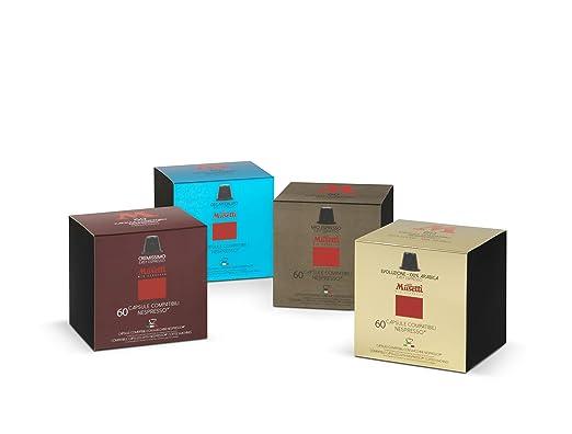 11 opinioni per Kit degustazione 240 Capsule compatibili Nespresso (30% sconto)