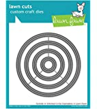 Lawn Fawn Lawn Cuts Craft Die - LF1441 Outside In Stitched Circle Stackables