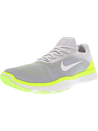 brand new f9c26 272fd NIKE Men s Free Trainer V7 Pure Platinum White-Sail Ankle-High Running Shoe