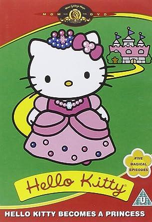 fdf276ff0 Hello Kitty: Hello Kitty Becomes a Princess [DVD]: Amazon.co.uk ...