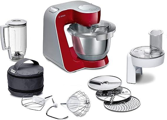Bosch MUM58720 CreationLine Robot de cocina, 1000 W, color rojo ...