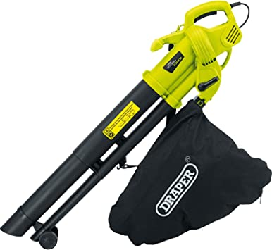 Aspiradora, sopladora y trituradora Storm Force 82104, de la marca Draper, para jardín, 3000 W y 230 V: Amazon.es: Bricolaje y herramientas