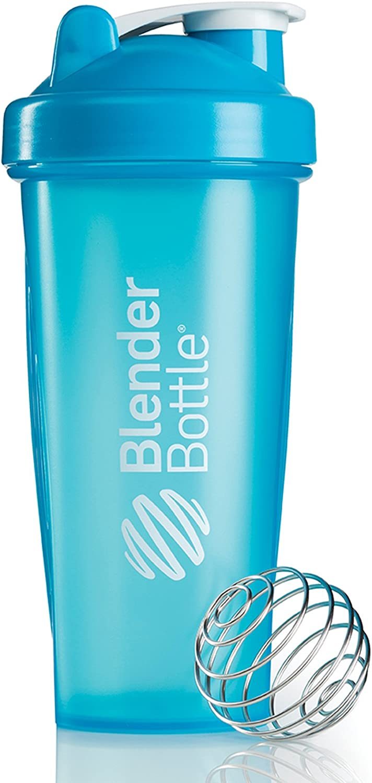 BlenderBottle Classic (Discontinued Style), 28-Ounce, Aqua/Aqua