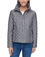 Marc New York Ladies' Quilted Jacket (Gray, S)
