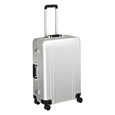 delicate Zero Halliburton Classic Aluminum 26 Inch 4 Wheel Spinner Travel Case, Silver, One Size
