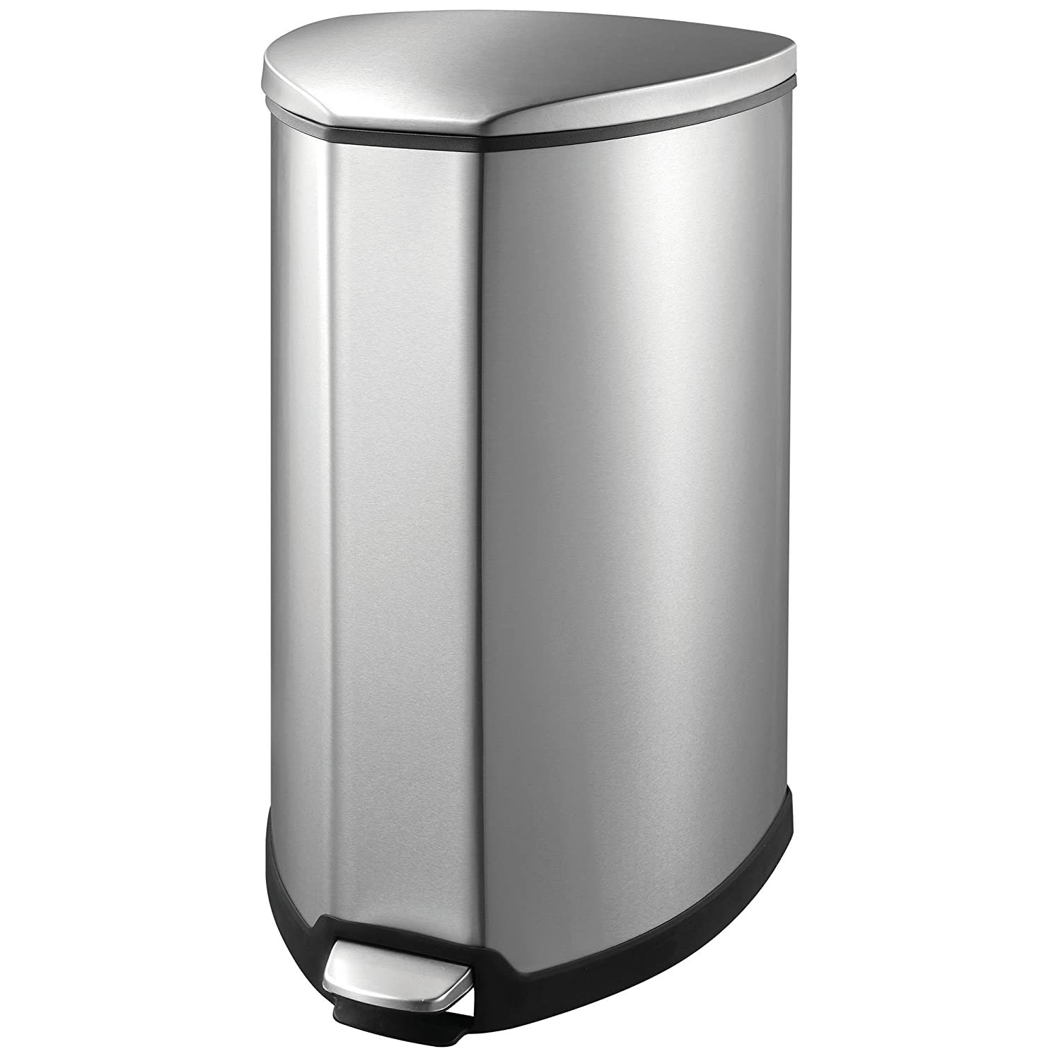 Amazon.com: EKO 92093-1 Grace 9.2 Gallon Stainless Steel Step Free ...