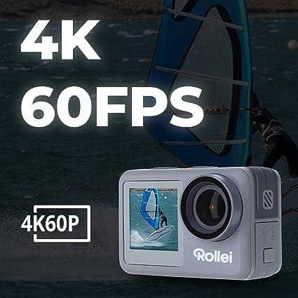 Rollei Action Cam 9s Plus I 4k 60fps Unterwasserkamera Kamera