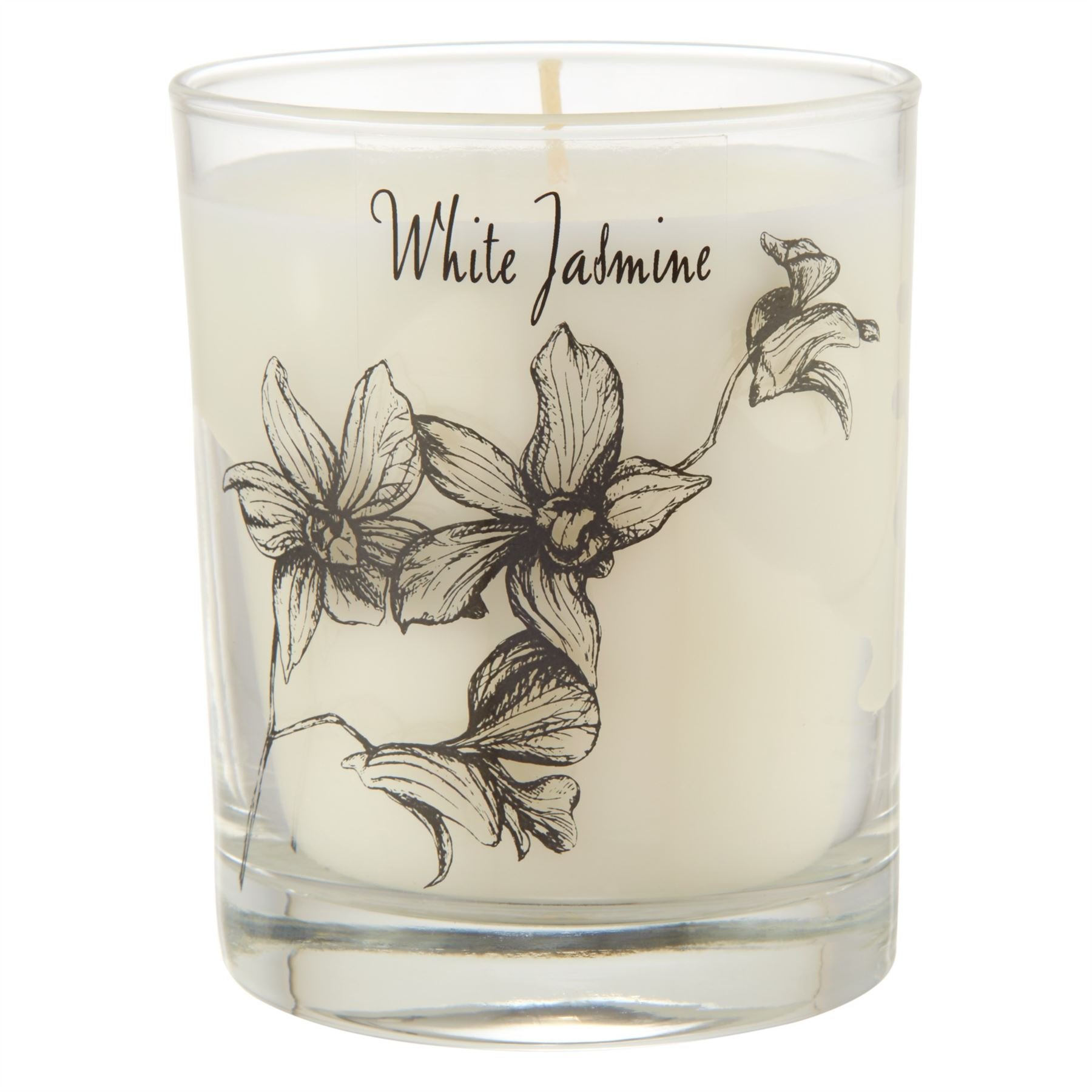 Stoneglow Scented Candle in a Jar Jasmine - Pack of 6