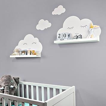 Wandtattoo Baby Wolken