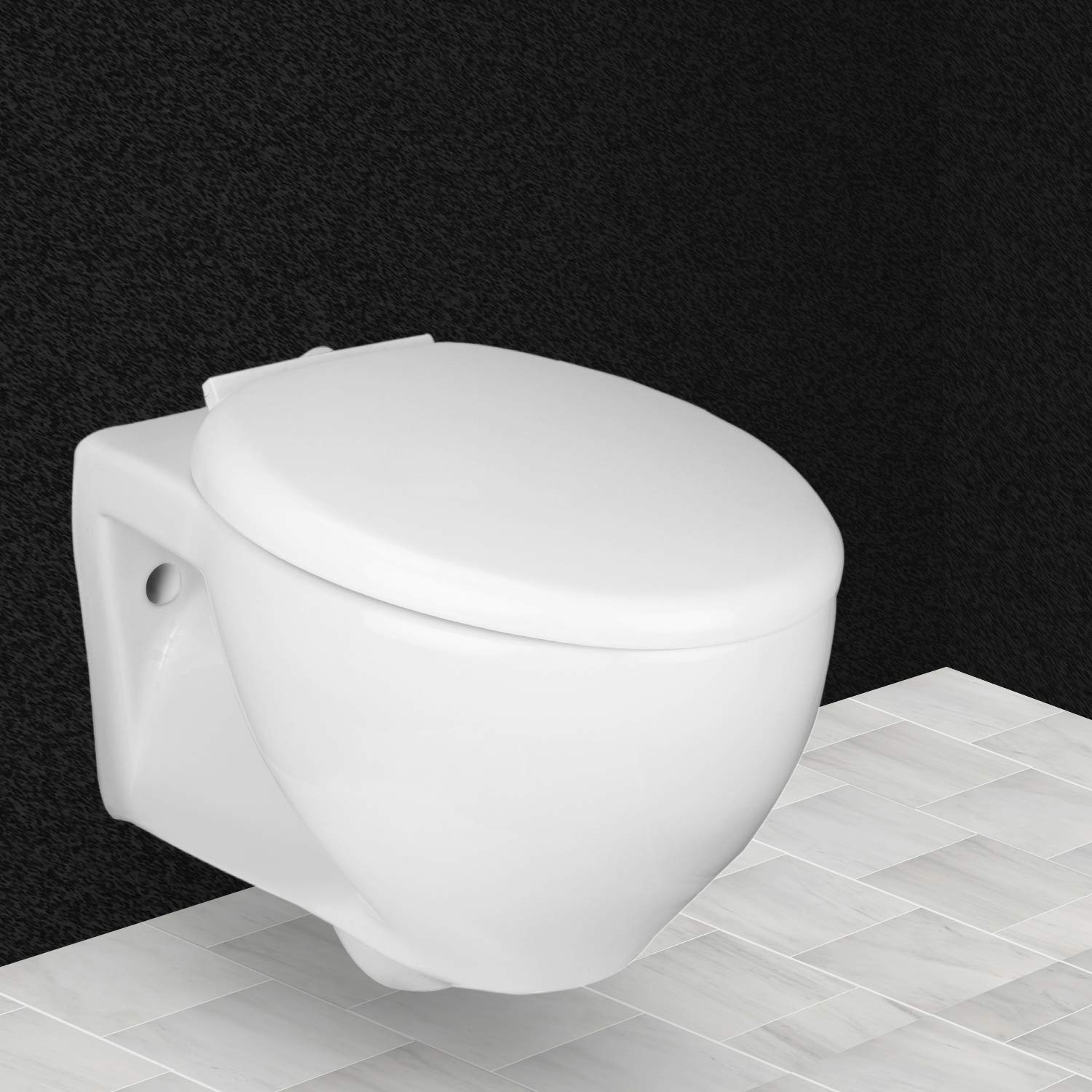 Sensational Hindware Lara One Piece Ceramic Wall Mounted Western Toilet Gmtry Best Dining Table And Chair Ideas Images Gmtryco