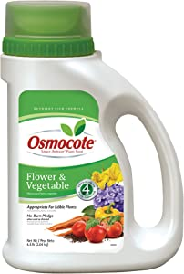 Osmocote 277860 Smart-Release Plant Food Flower & Vegetable, 4.5 LB