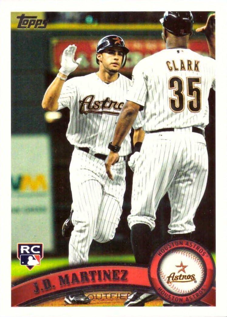 2011 Topps Update Baseball #US186 J.D. (JD) Martinez Rookie Card