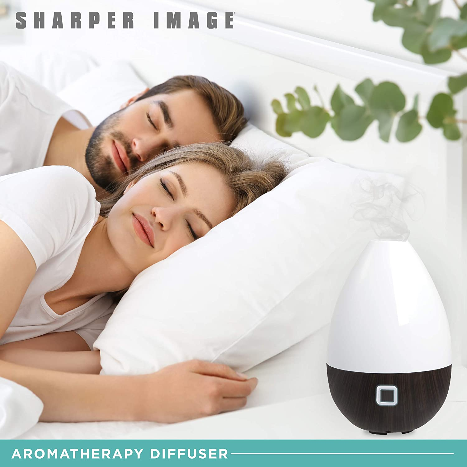 Sharper Image Essential Oil Aromatherapy Mist Diffuser 180ml