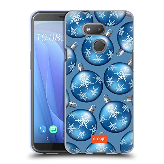 74ccd9d13279 Image Unavailable. Image not available for. Color  Official Emoji Baubles Winter  Patterns Soft Gel Case for HTC Desire 12s ...